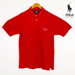 Polo Jeans Ralph Lauren Red short sleeve red polo